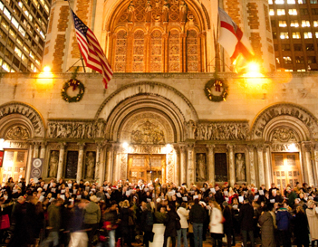 The Midtown Carol Sing-Along -  Dec. 16!